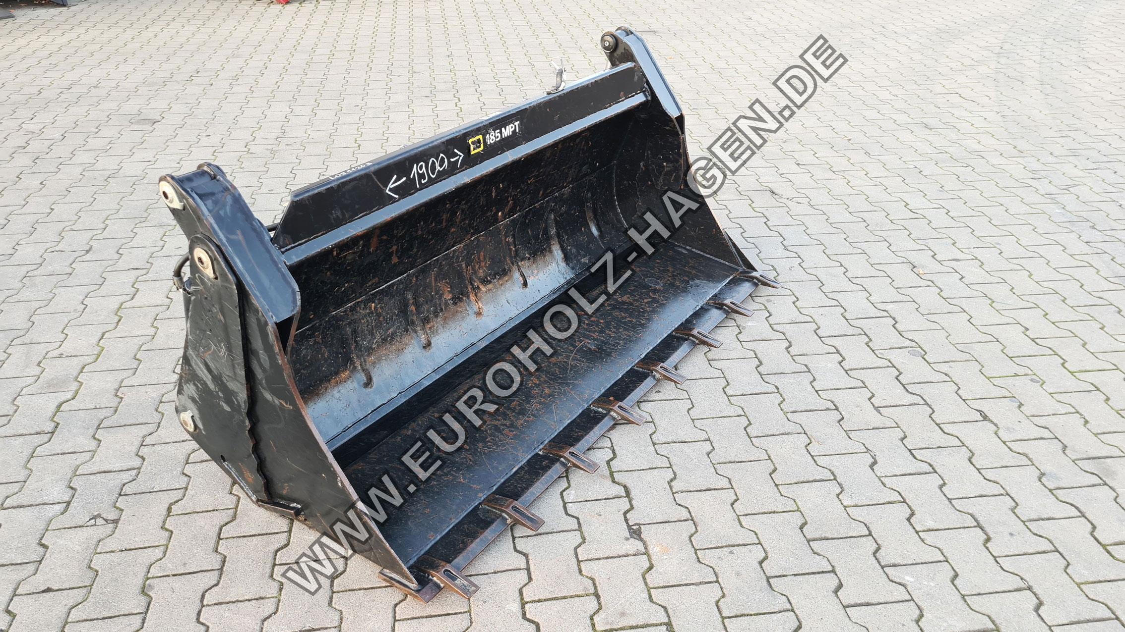 Klappschaufel hydraulisch hydraulische Frontschaufel Frontladerschaufel folding shovel Baggerschaufel Schaufel 1900 mm 190 cm