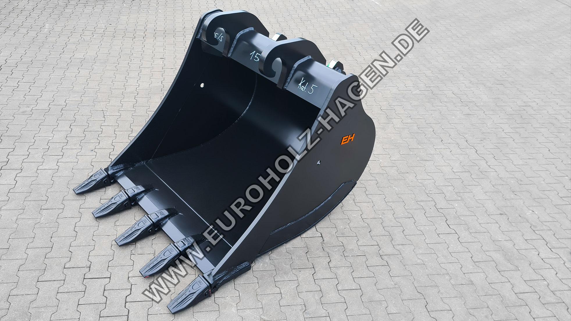 Tieflöffel passend für Verachtert CW45 S 1500 mm Kat. 5 EH