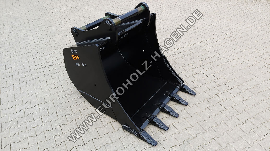 Tieflöffel passend für OilQuick OQ80 1200 mm Kat. 3