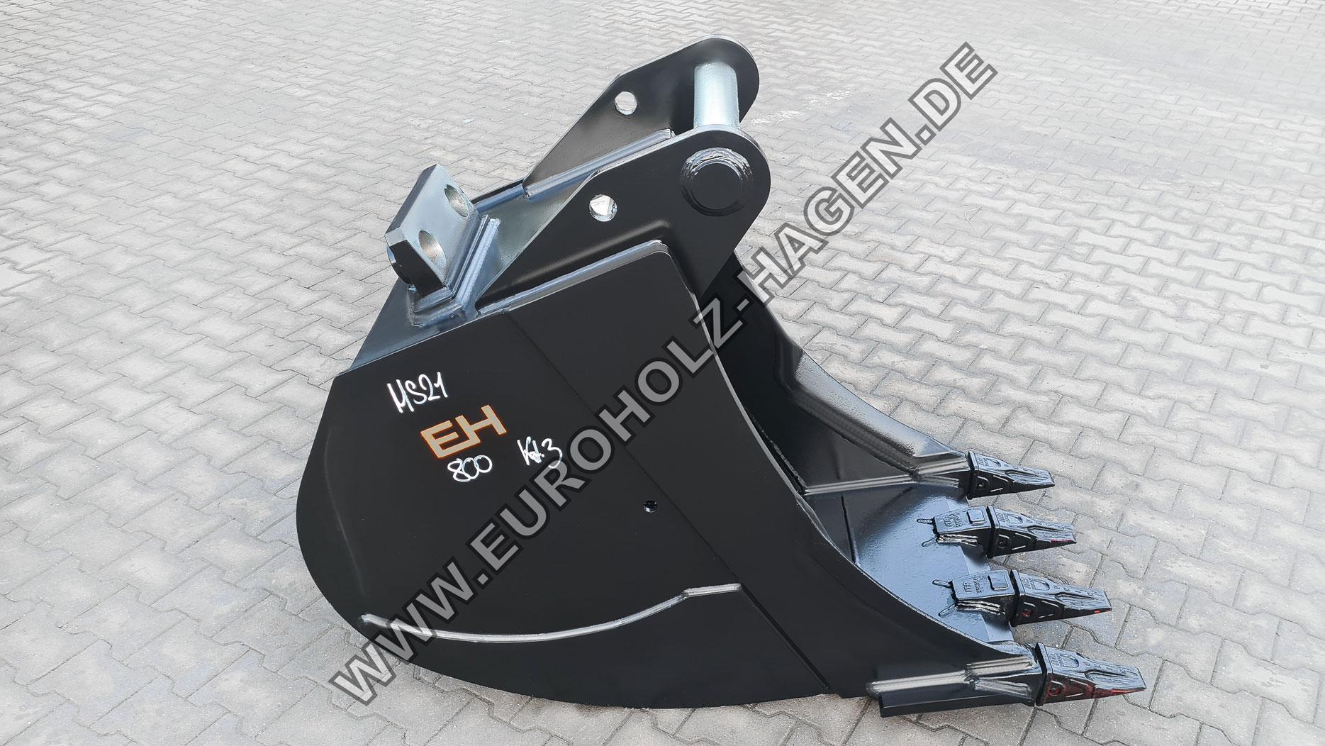 Tieflöffel passend für Lehnhoff MS21 800 mm Kat. 3