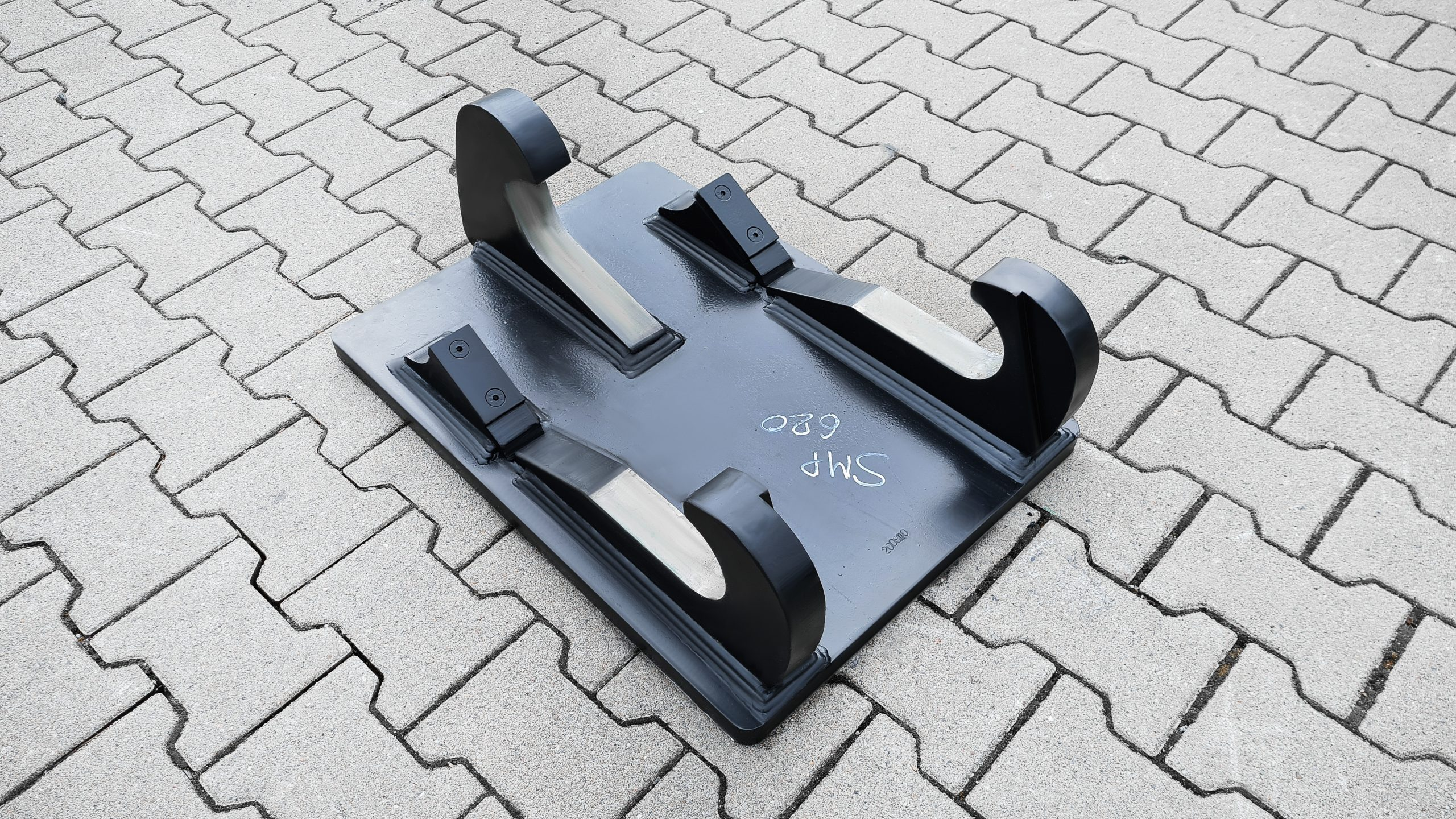 Anschweißrahmen mit Grundplatte passend für Atlas SMP T620