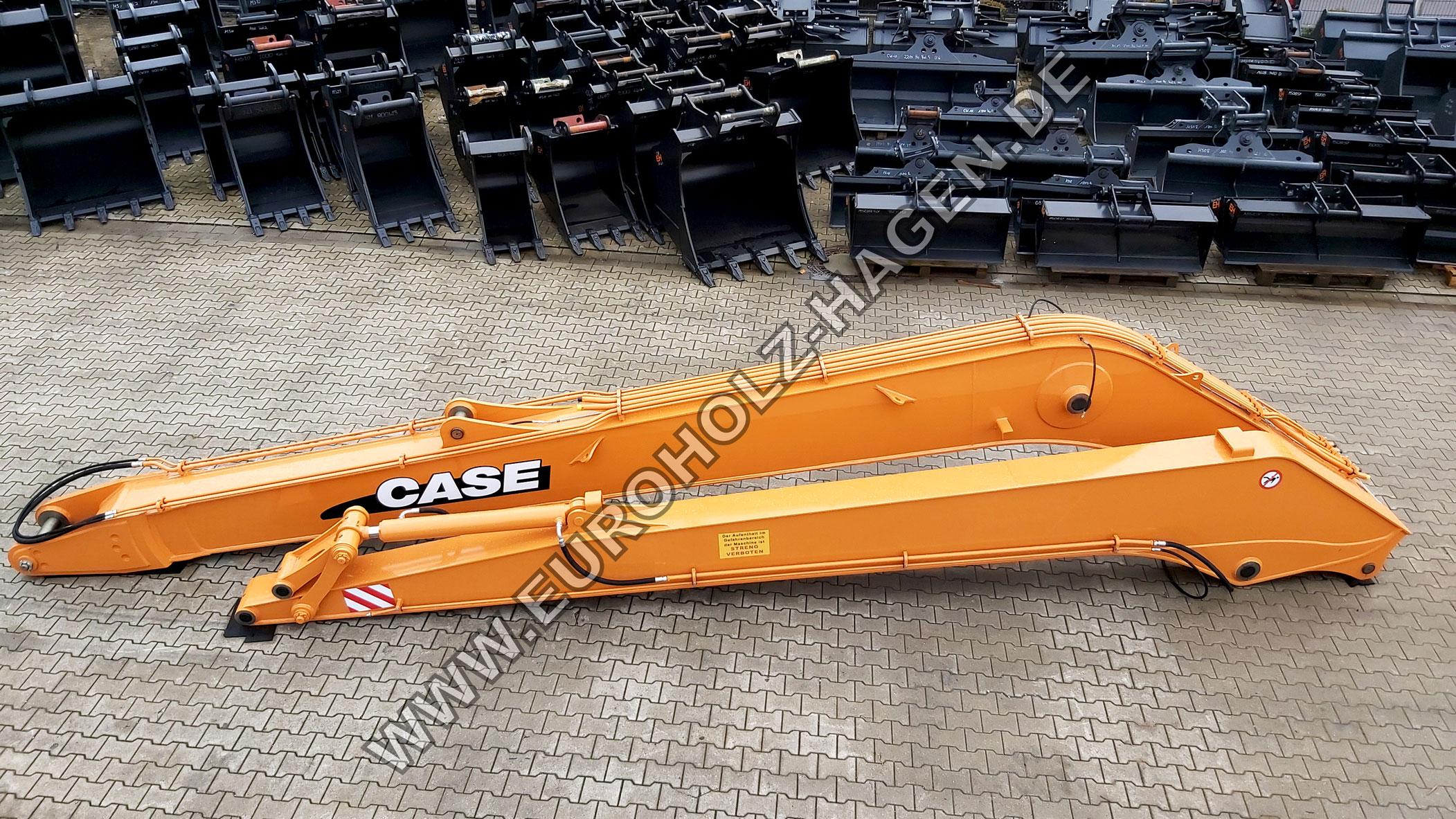 15 m Long Reach for Case CX210