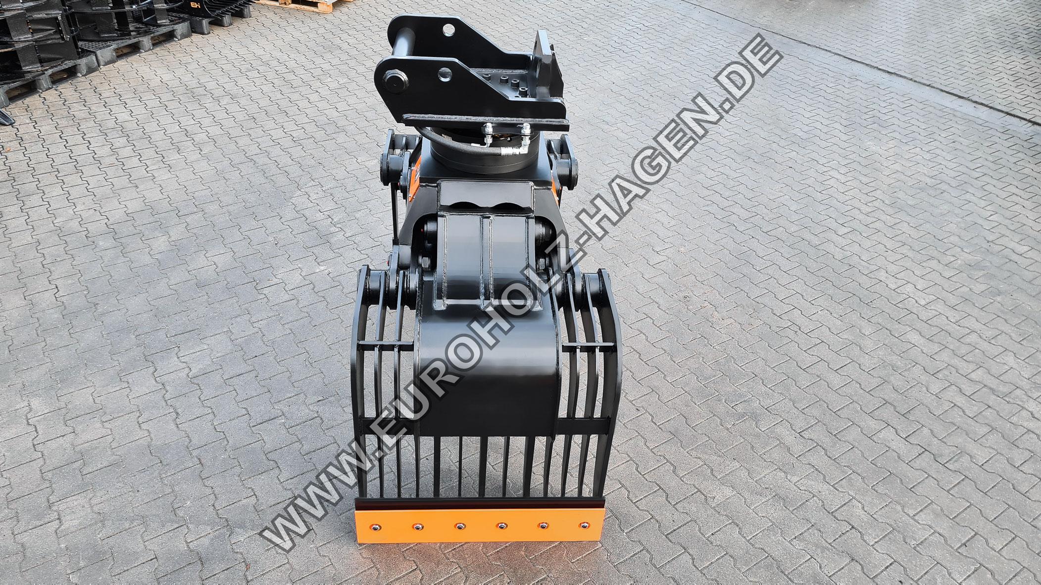 Abbruchgreifer mit THUMM Rotator Typ 625H passend für Lehnhoff MS21 Kat.3