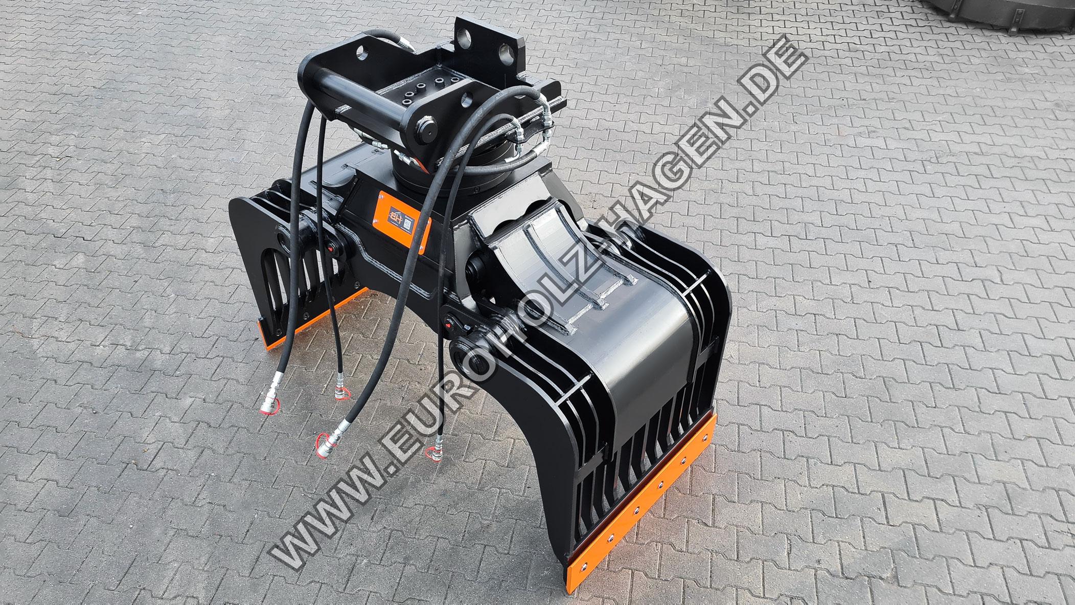 Abbruchgreifer passend für Lehnhoff MS21 / Kat.3 / mit THUMM Rotator Typ 625H / inkl. Leitungen