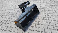 Hydraulischer Grabenräumlöffel mit Lasthalteventil passend für Lehnhoff MS03 1200 mm B