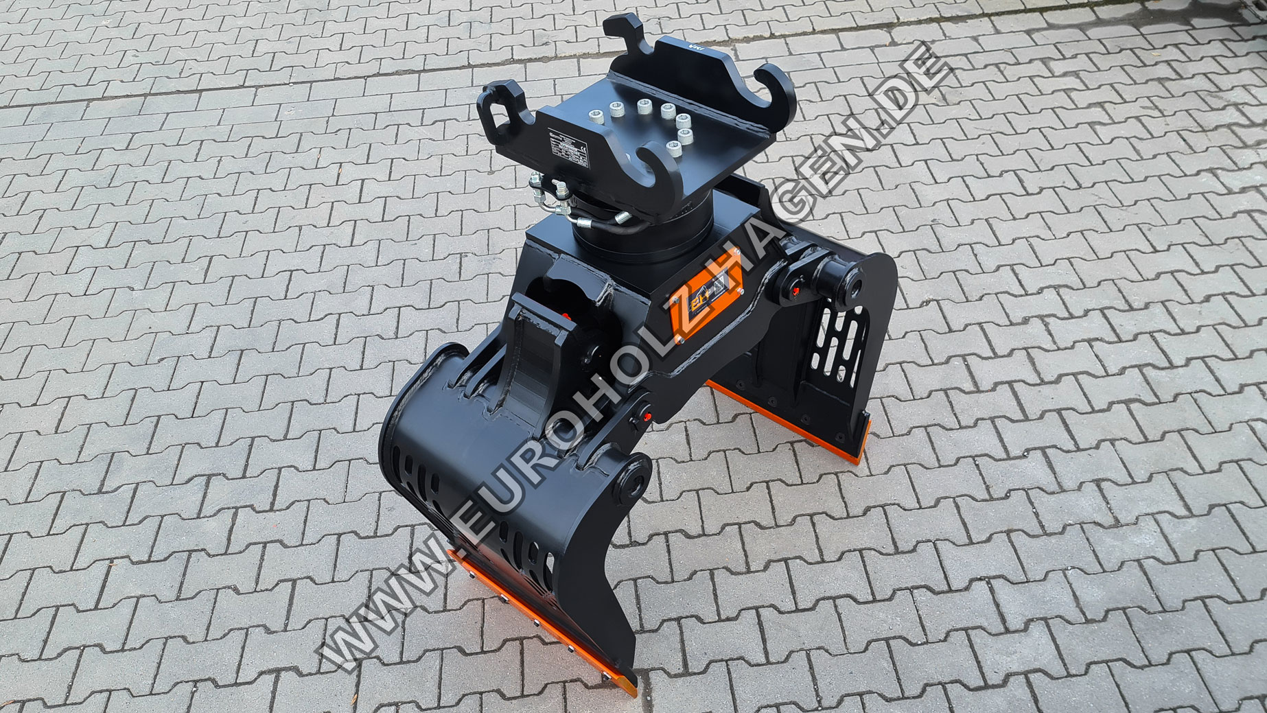 Sortiergreifer mit THUMM Rotator Typ 609H passend Verachtert CW10 Kat. 3