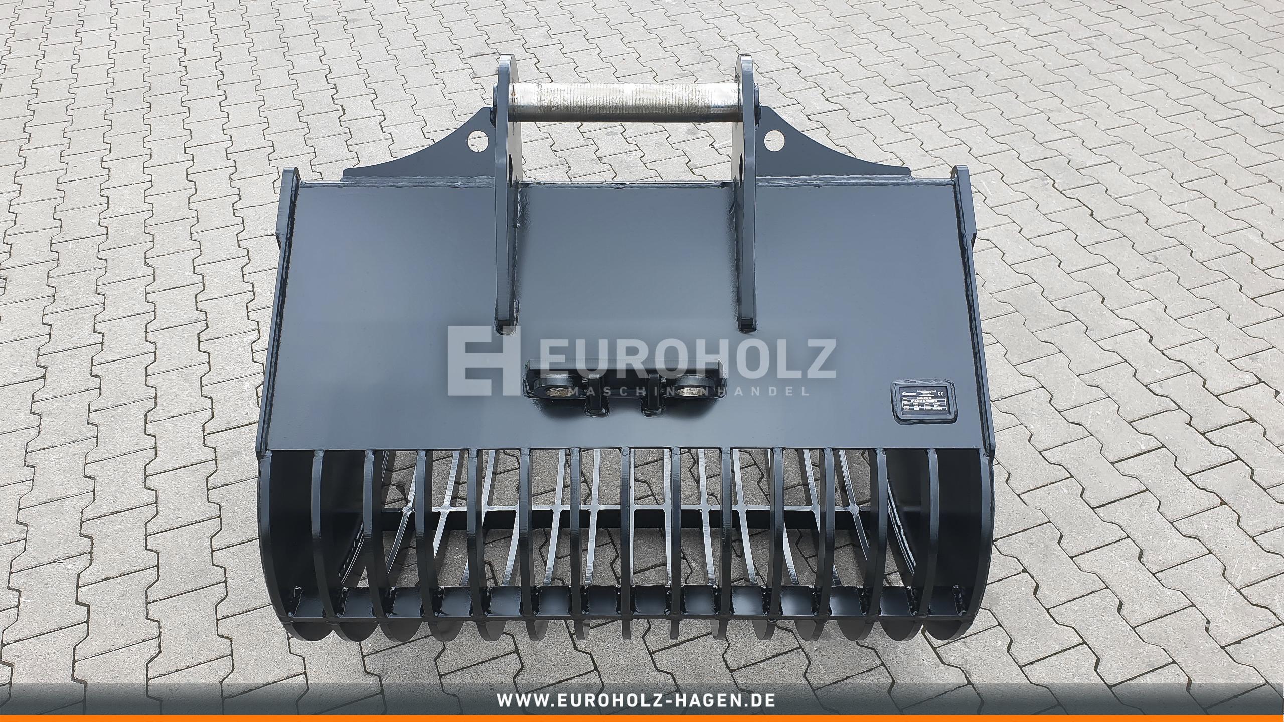 Sieblöffel passend für Lehnhoff MS10 / 1300 mm / Kat. 2G