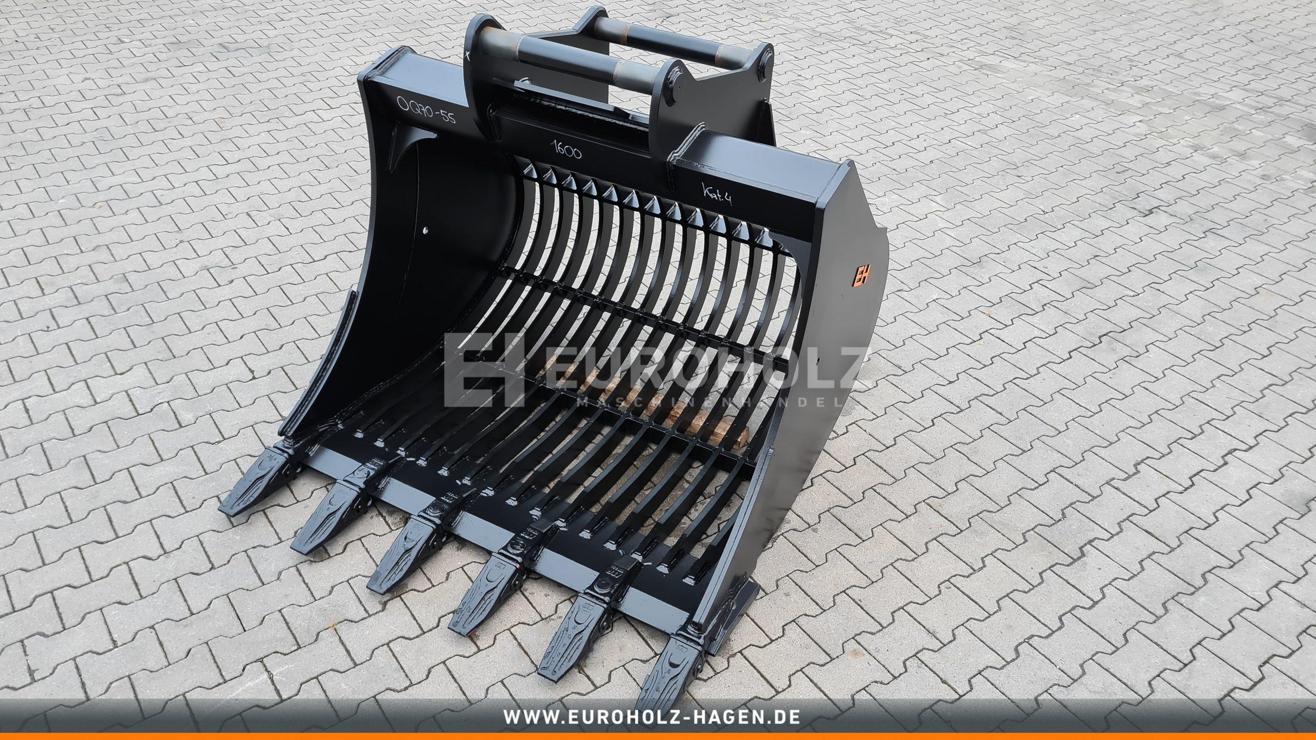 Sieblöffel passend für OilQuick OQ70-55 / 1400 mm / Kat. 4G