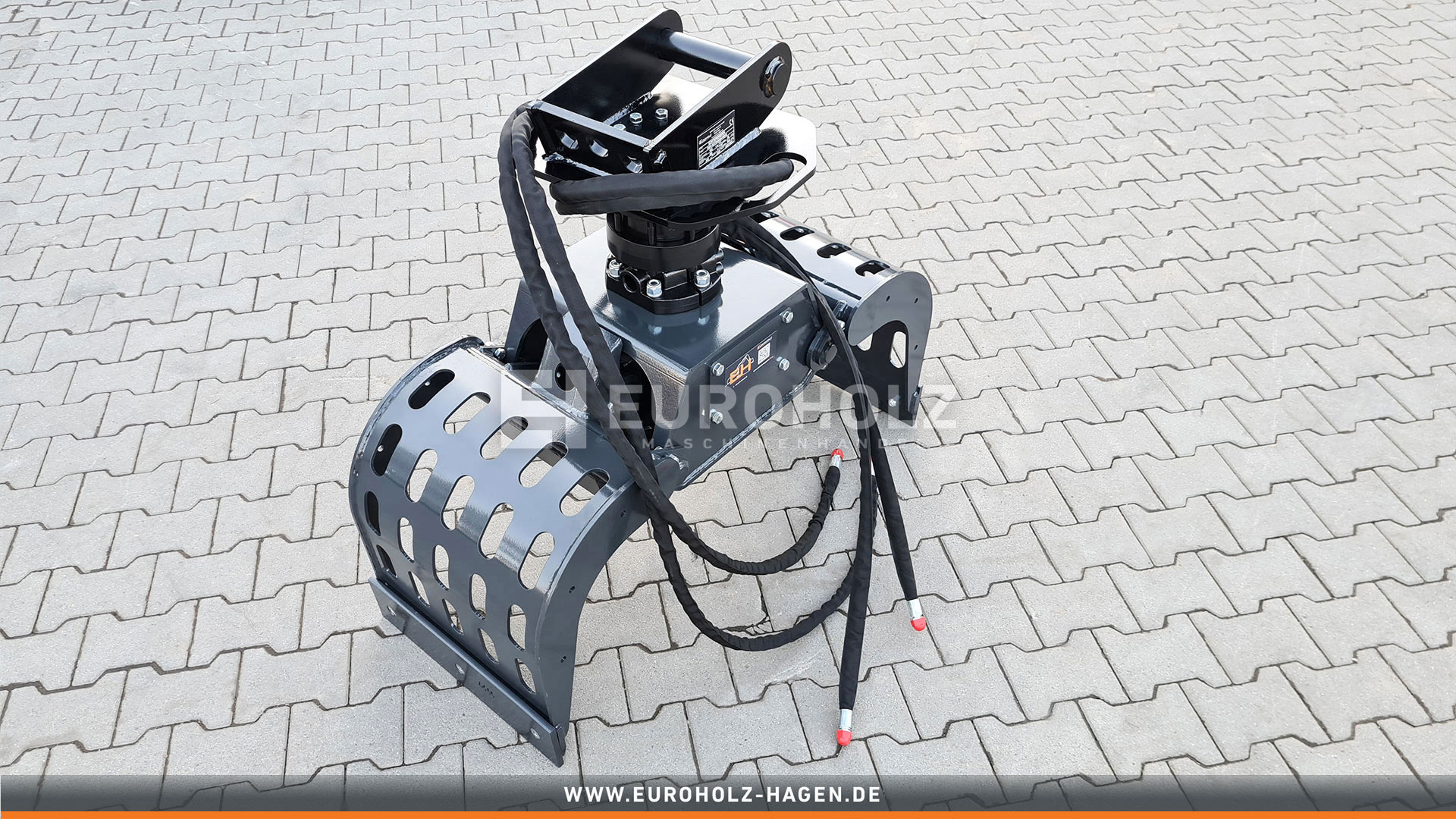 Sortiergreifer mit Rotator passend für Lehnhoff MS03 / Kat. 2K / inkl. Hydraulikset