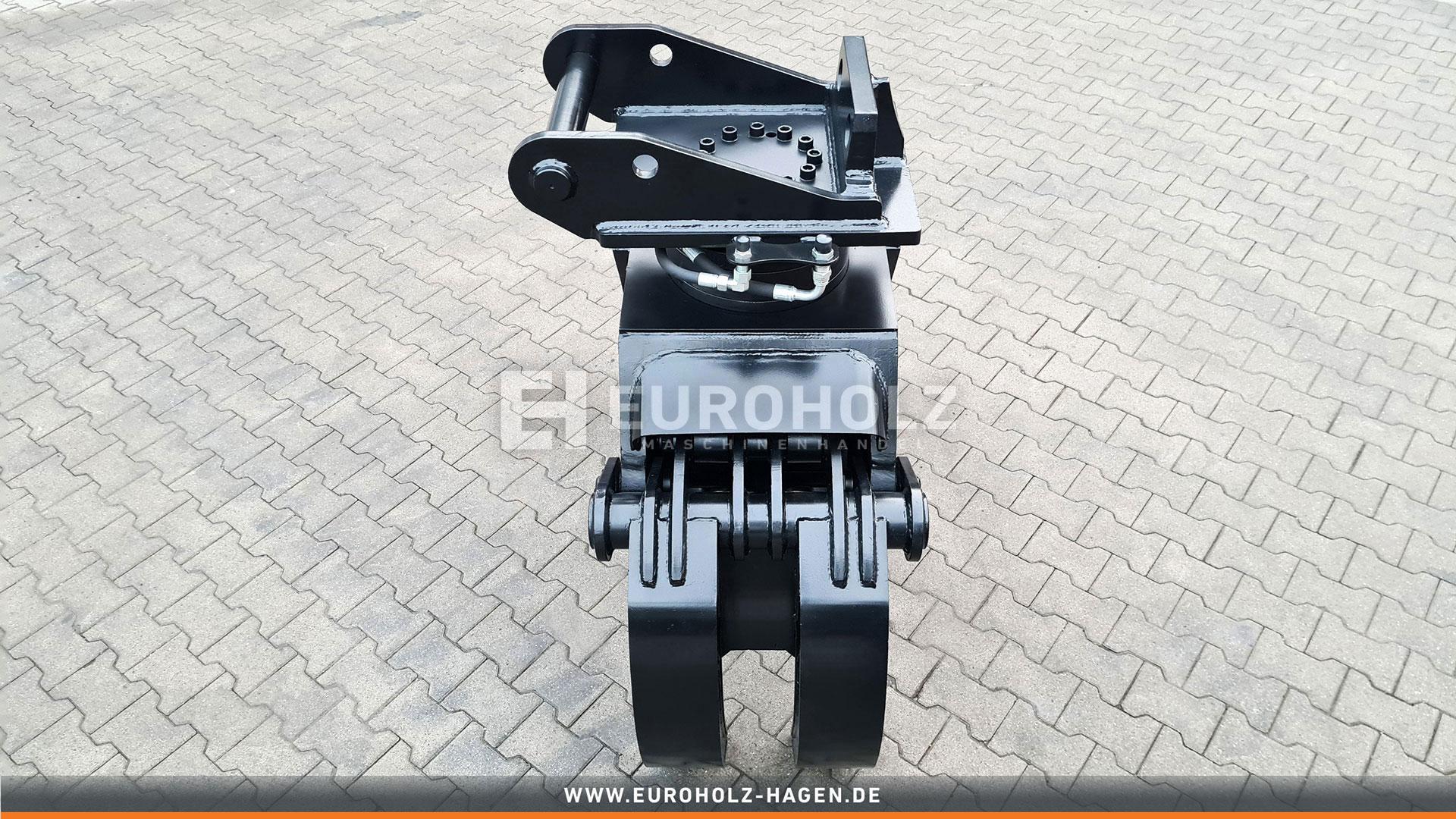 5-Finger Holzgreifer mit THUMM Rotator Typ 615H passend für Lehnhoff MS10 Kat. 1G
