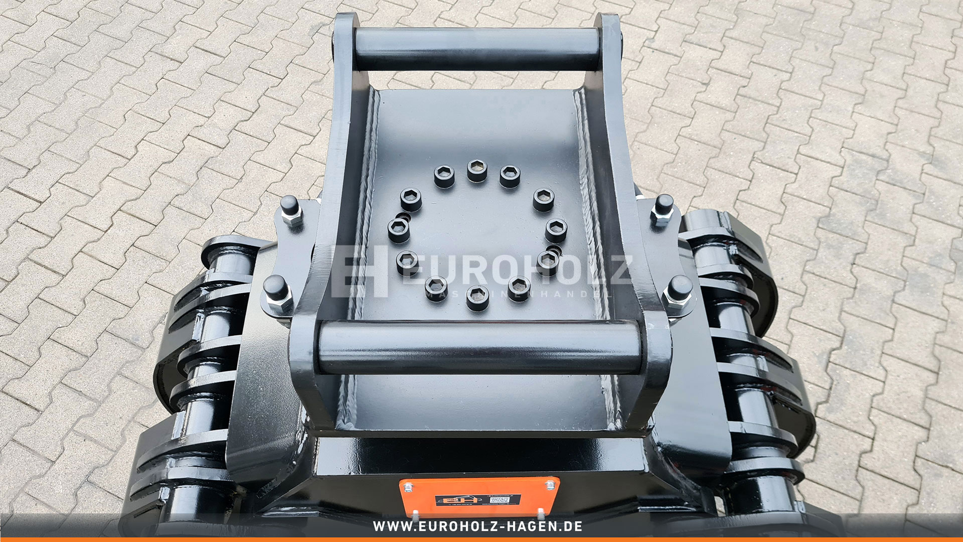 5-Finger Holzgreifer mit THUMM Rotator Typ 615H passend für Volvo S60 Kat. 1G
