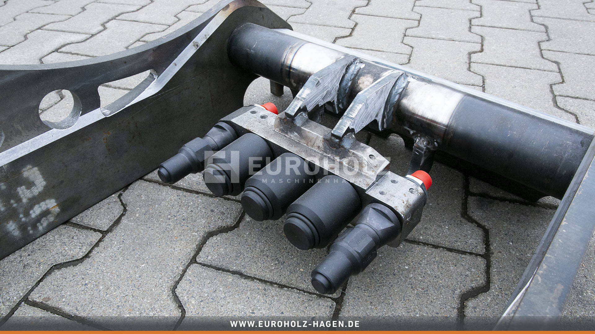 Hydraulic adapter OilQuick OQ65 / with couplings