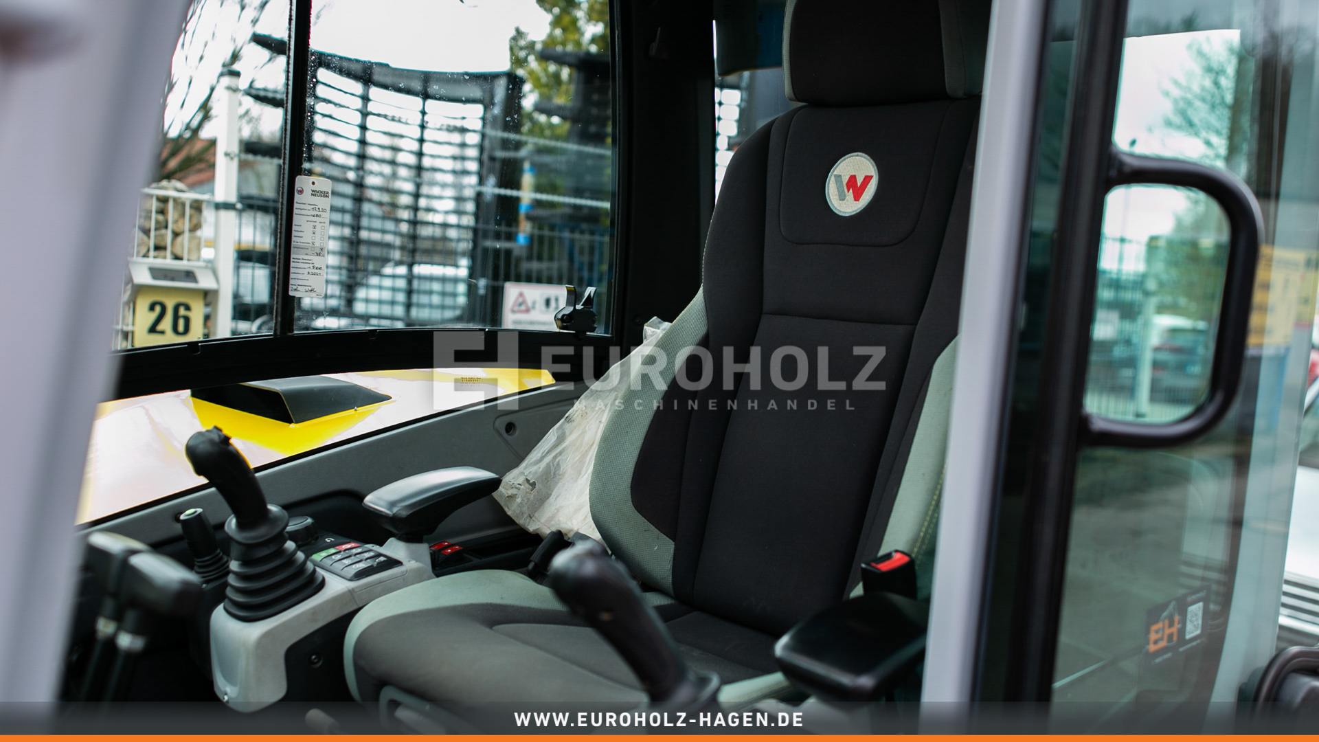 Minibagger Wacker Neuson ET65 mit Powertilt MS03 hydr. 3x Klima Kamera