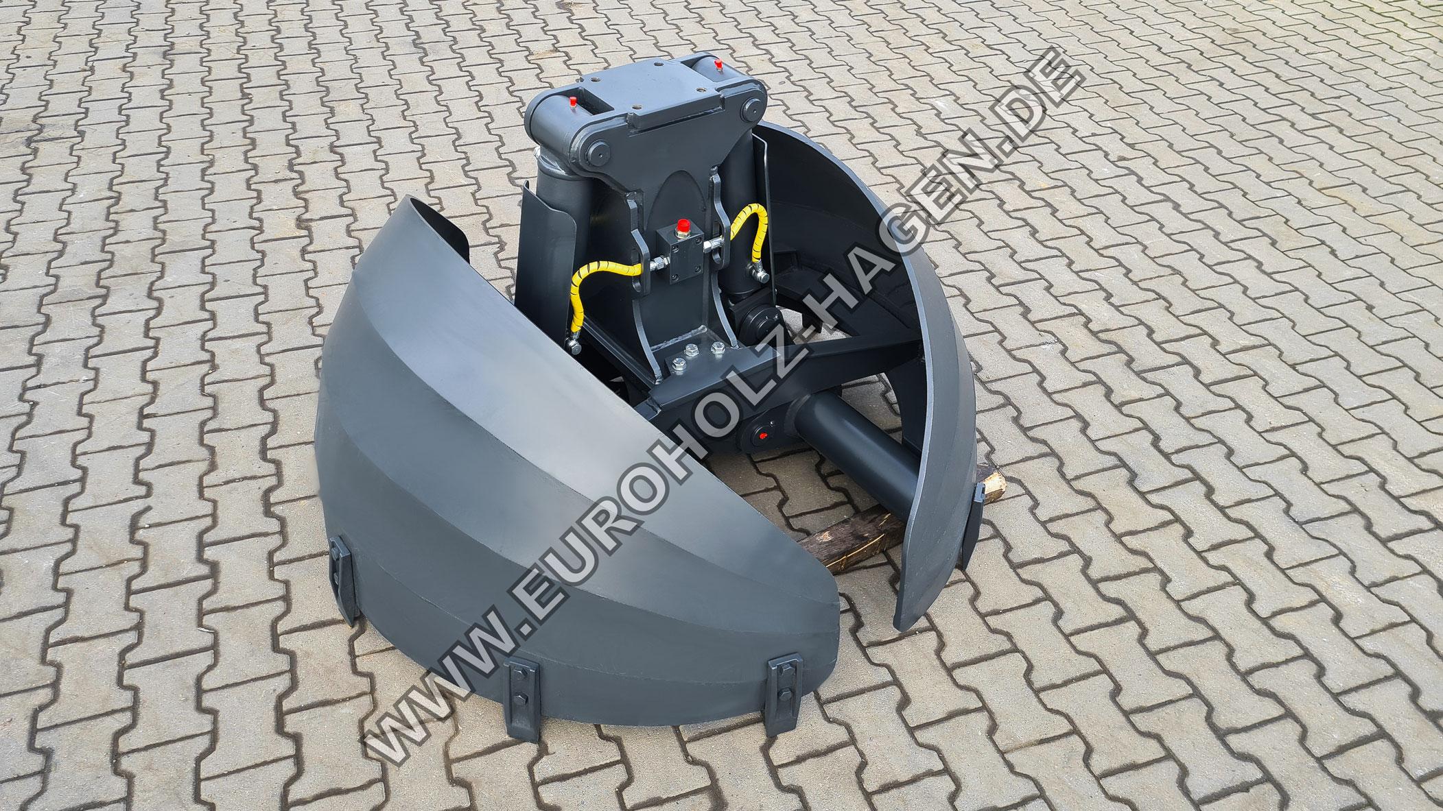 Rundgreifer mit dem Durchmesser 1500 mm / inkl. Hydraulikleitungen