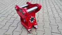 Schwenkmotor für Takeuchi TB250 mit mechanischem Schnellwechsler passend für Lehnhoff MS03