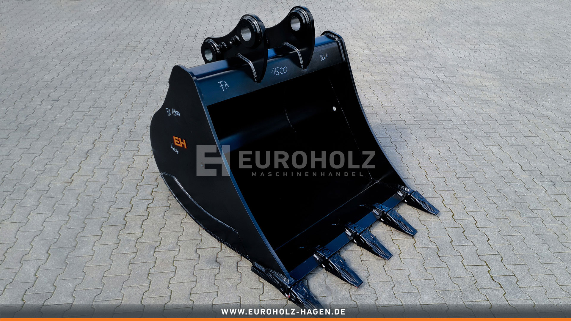 Tieflöffel passend für CAT 329 (Festanbau) / 1500 mm / Kat. 4G