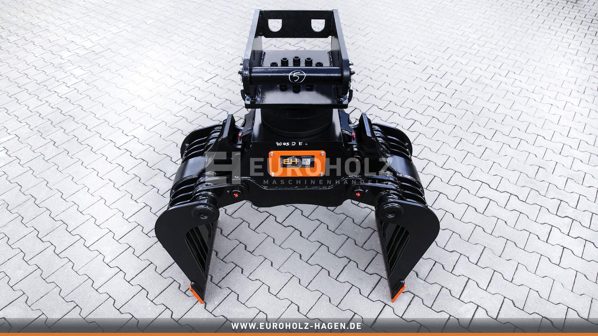 Abbruchgreiger mit THUMM Rotator Typ 609H passend für Lehnhoff MS08 / Kat. 3K