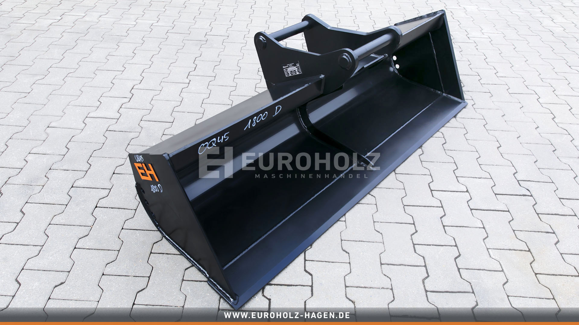 Grabenräumlöffel OilQuick OQ45 / 1800 mm / Kat. 5K