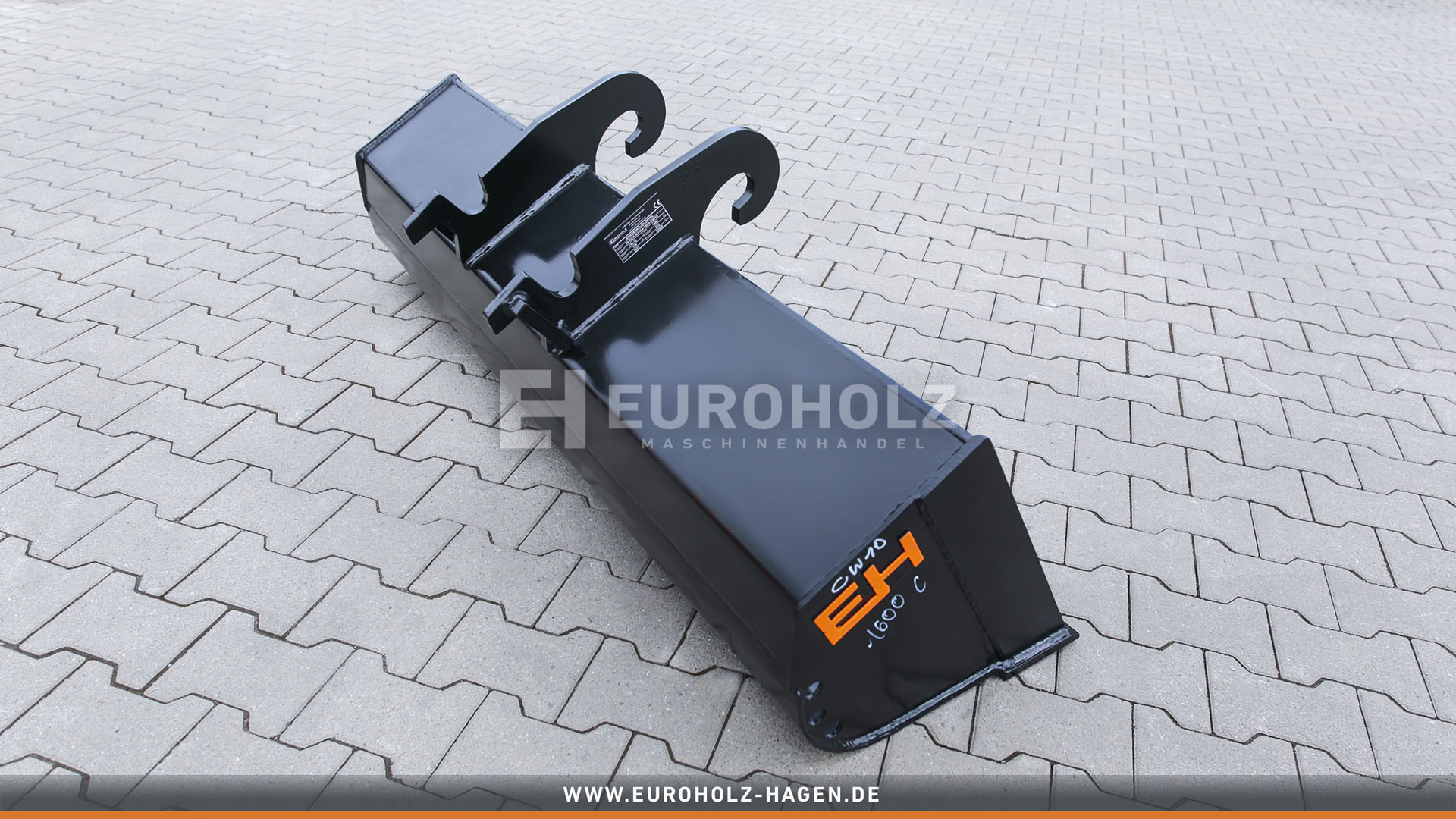 Grabenräumlöffel passend für Verachtert CW10 / 1600 mm / Kat. 4K