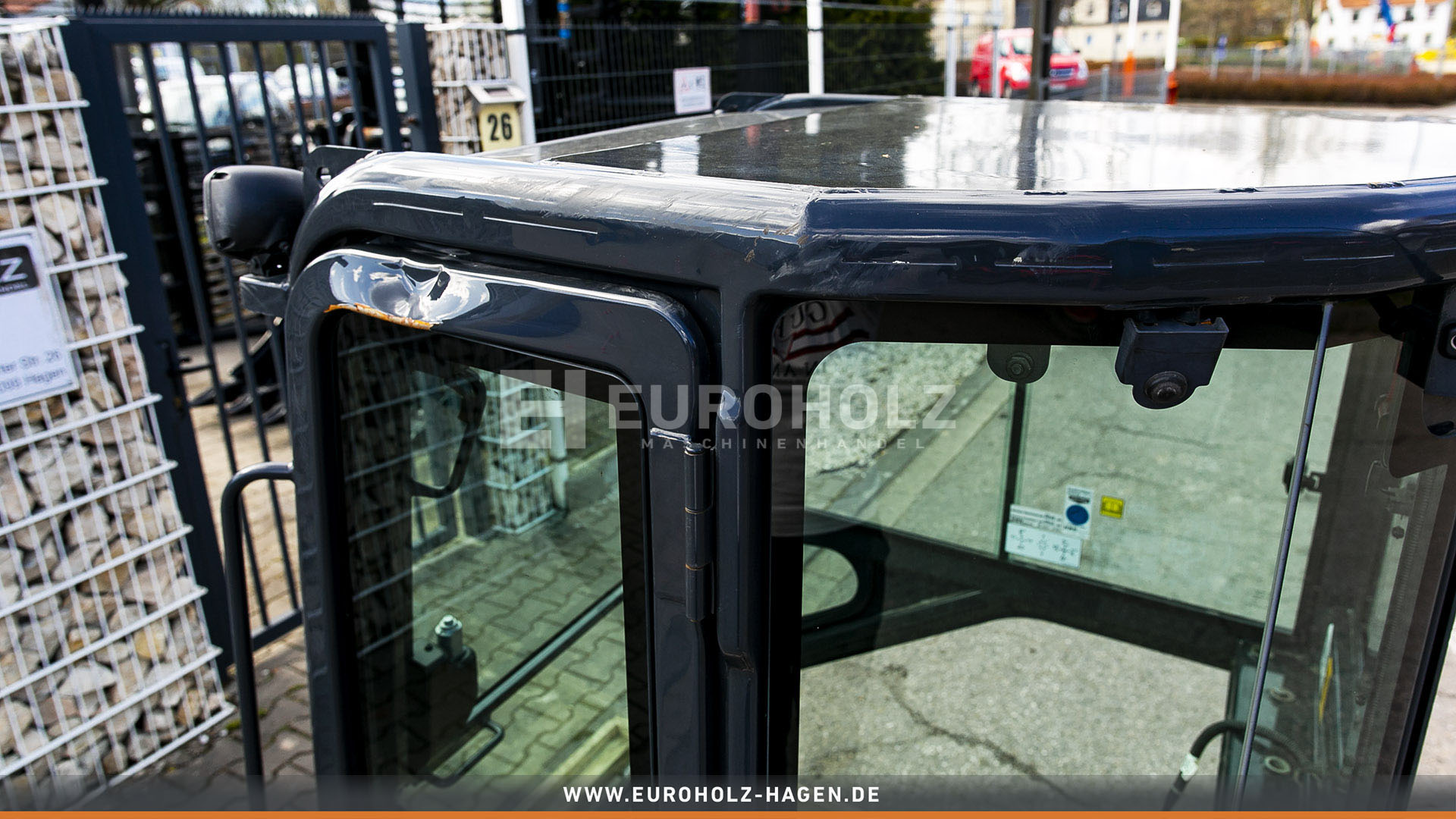Kabine Hitachi ZX48 Fahrerhaus Fahrerkabine Bagger