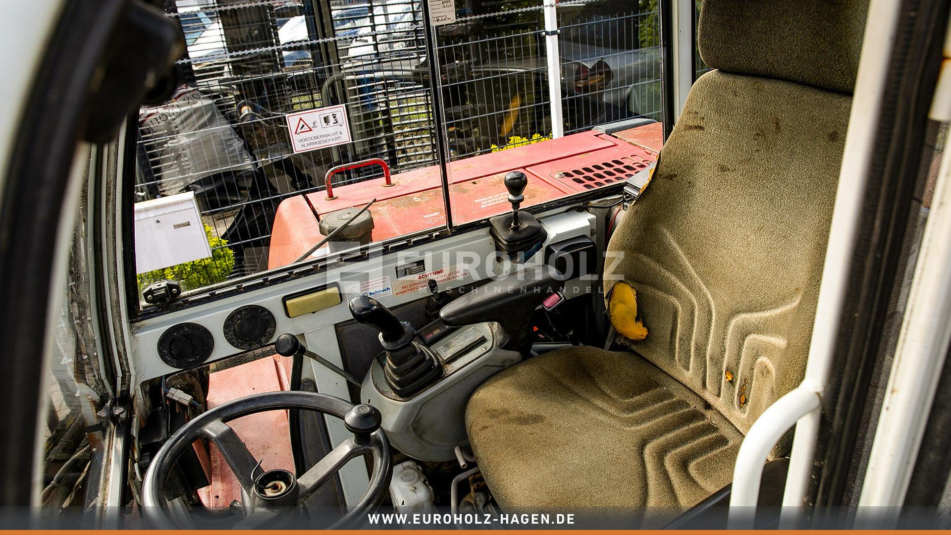 Mobilbagger Wacker Neuson 6502 WD mit SW MS08 6200 kg