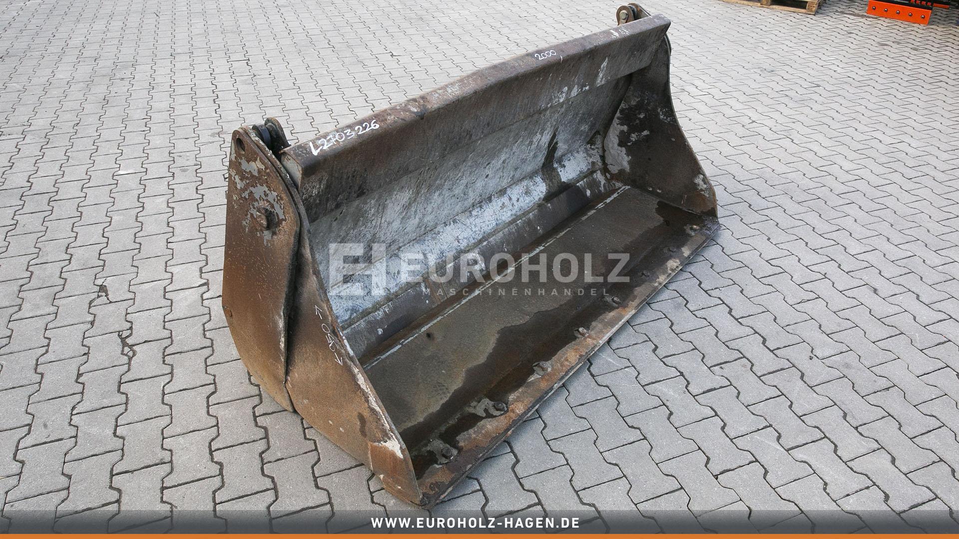 Klappschaufel hydraulisch passend für Liebherr 507 2000 mm (gebr.)