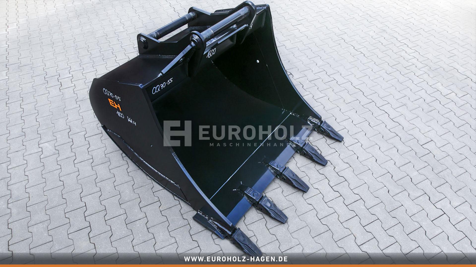 Tieflöffel OilQuick OQ70-55 / 1600 mm / Kat. 4G