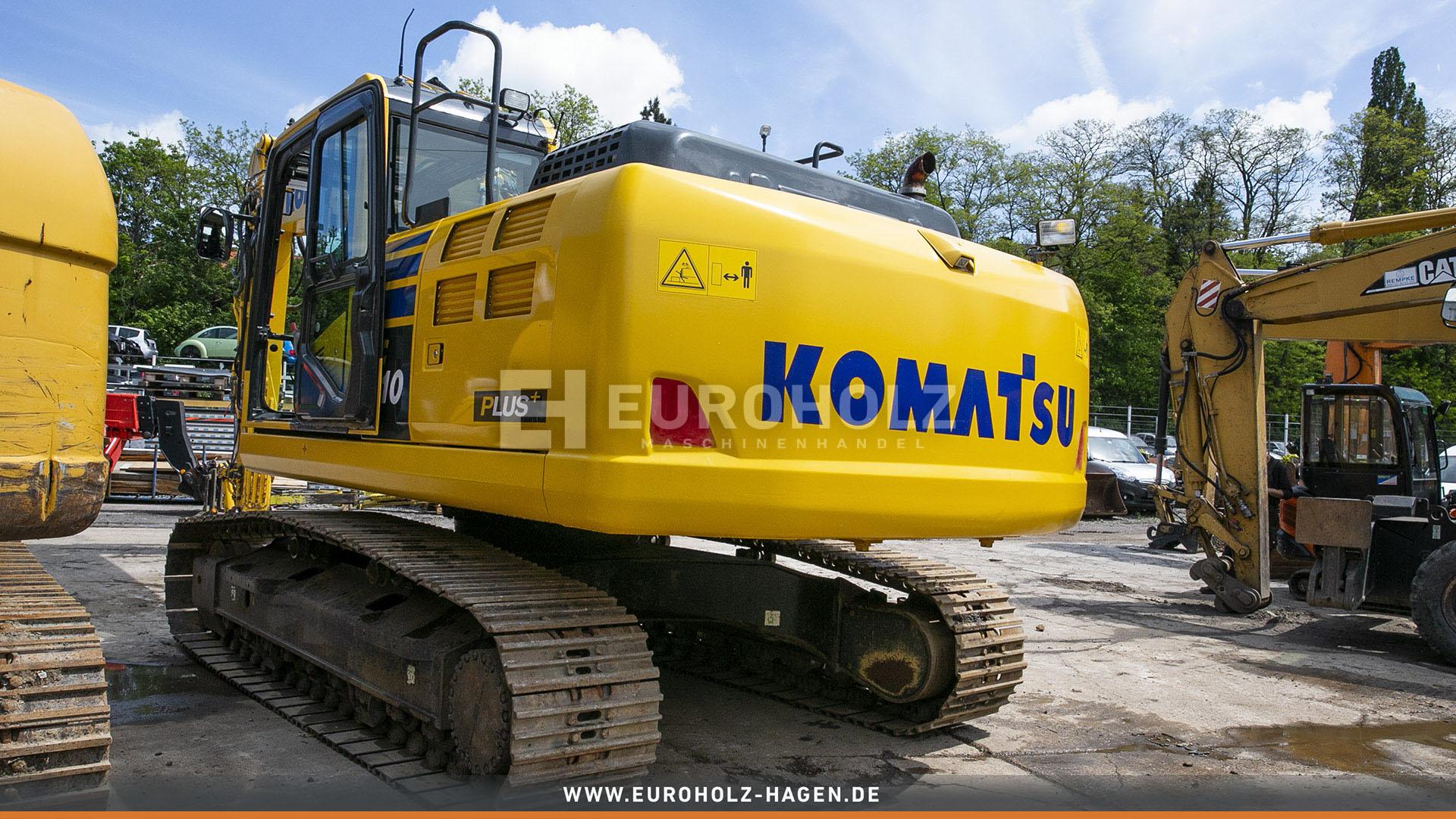 Kettenbagger Komatsu PC 210 LC 10 nur 3880 Bh Klima Top Zustand MS 21