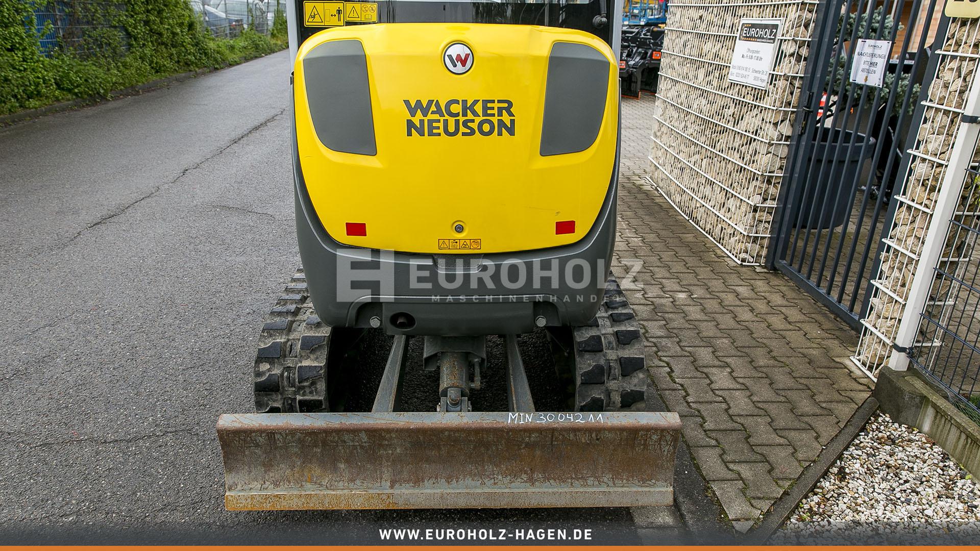 Minibagger Wacker Neuson ET 24 mit MS 03 nur 567 Bh