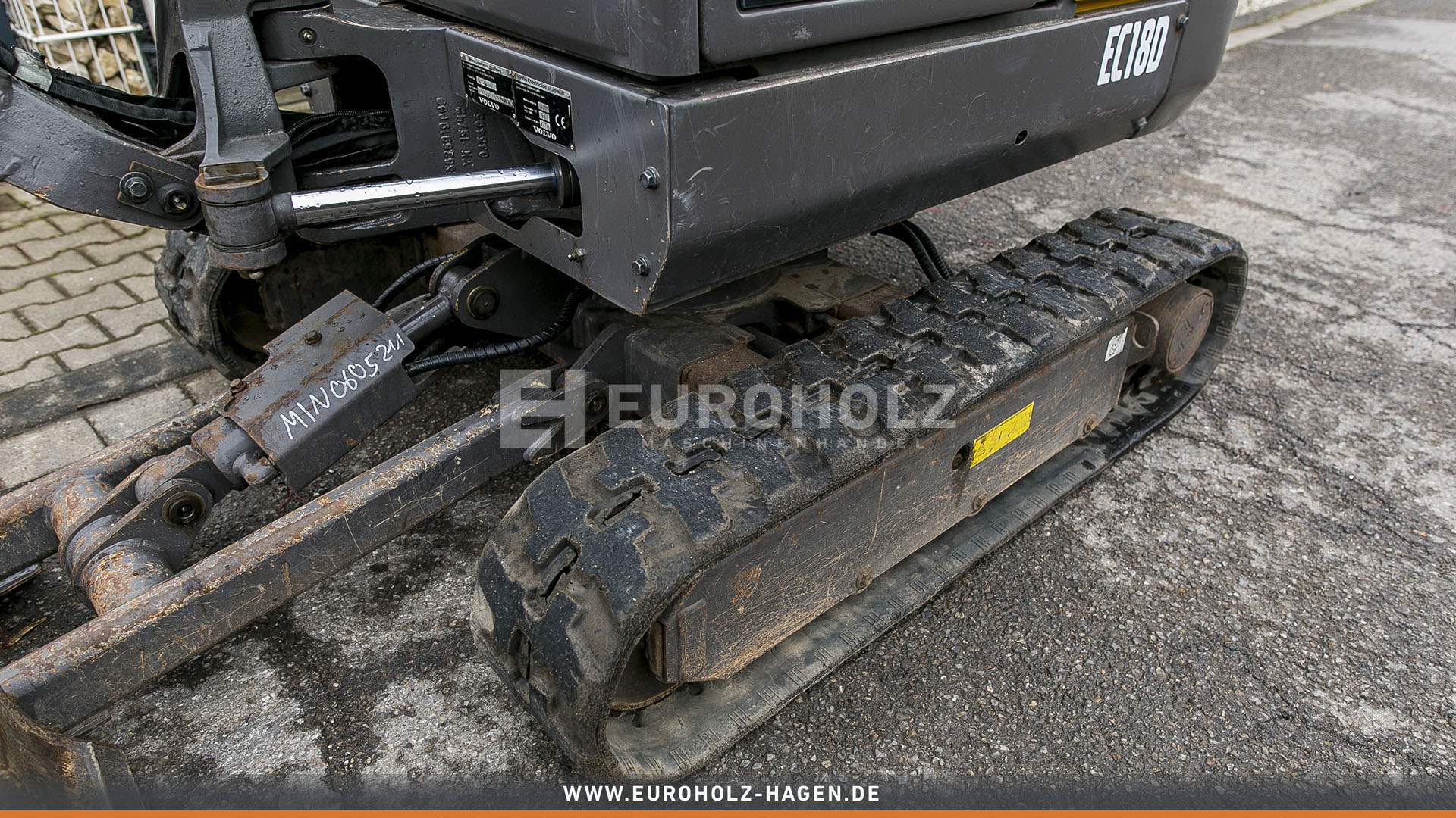 Minibagger Volvo EC18D SW MS01