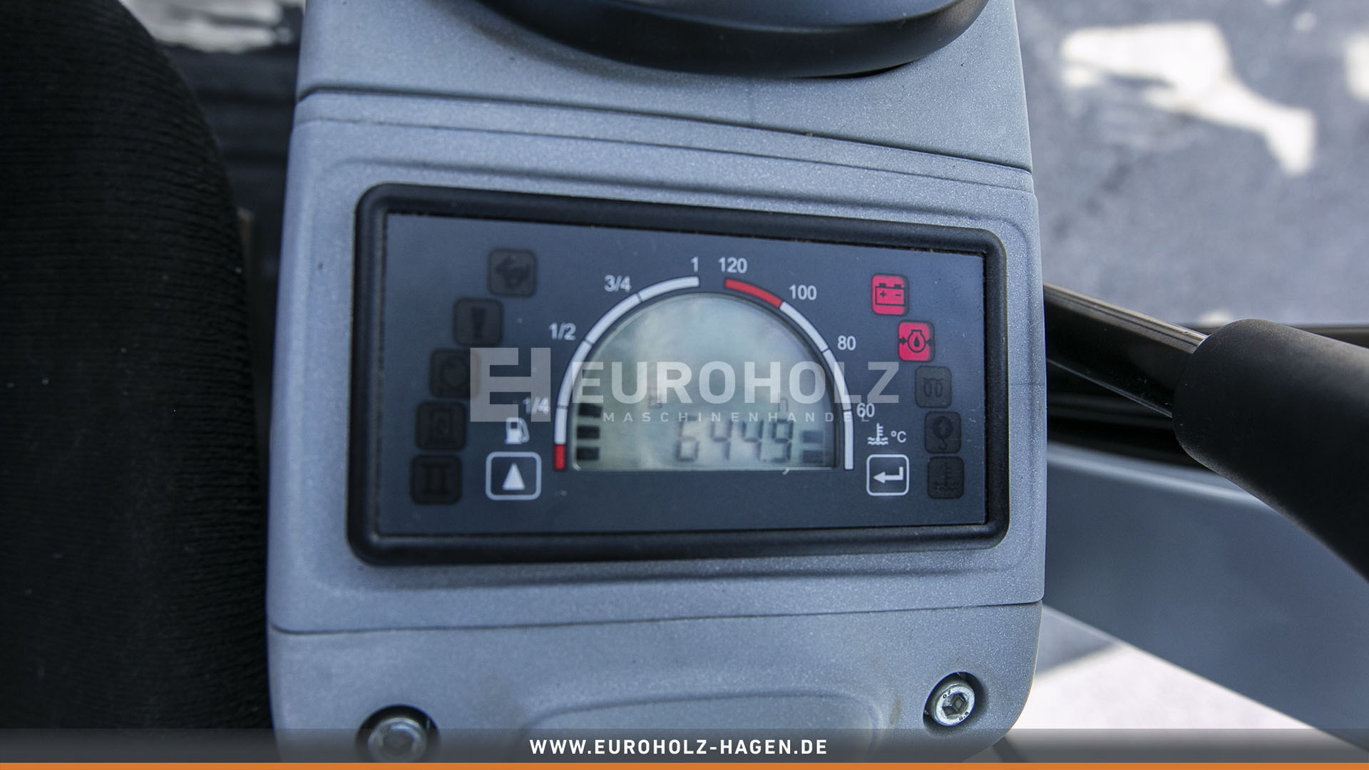 Minibagger Wacker Neuson ET 24 mit MS03 nur 644 Bh