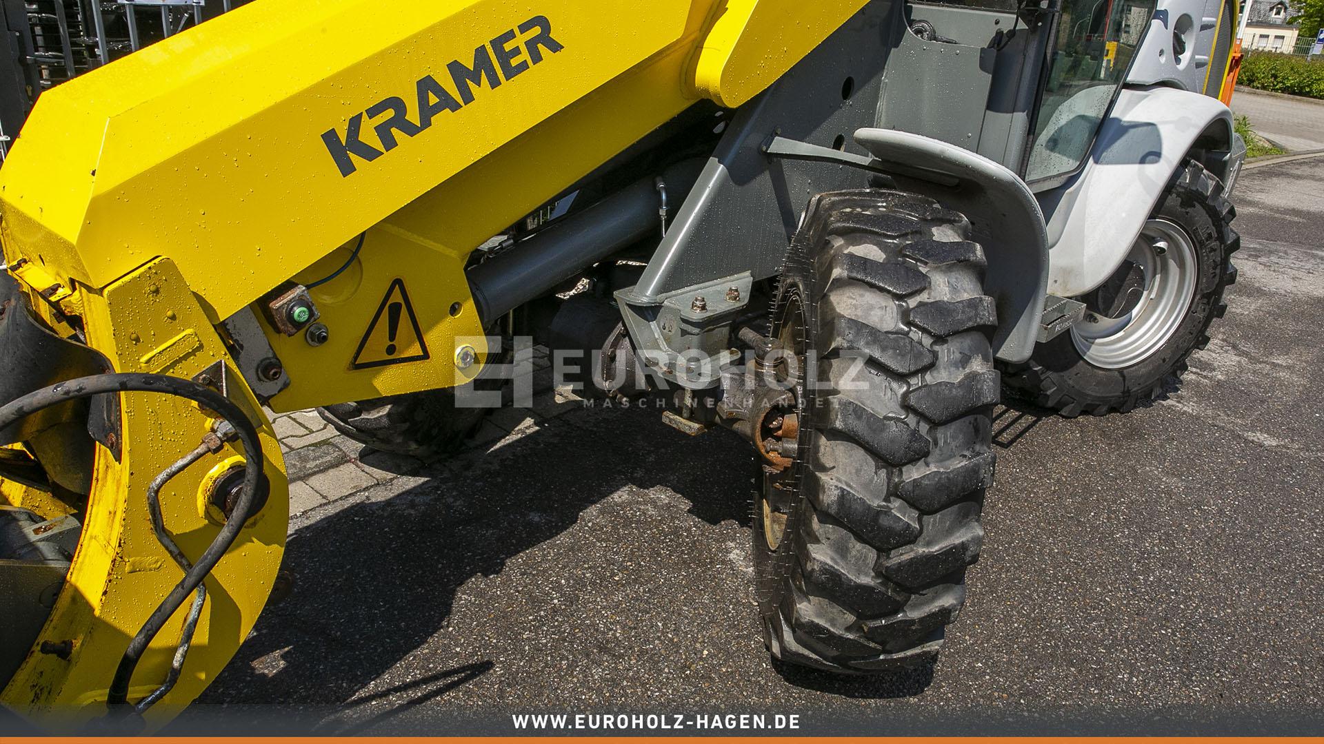 Radlader Kramer 5085 T nur 436 Bh mit SW Hydr 3 Steuerkreis