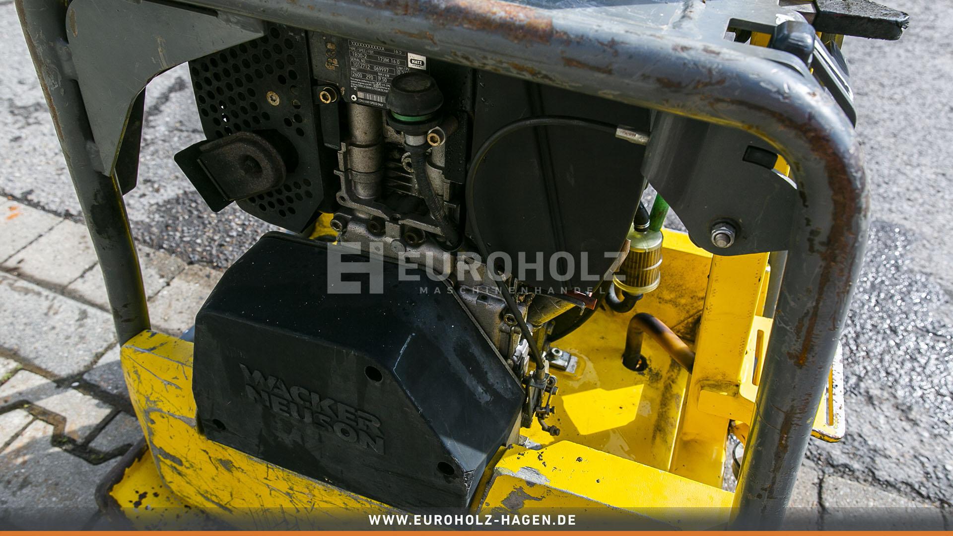Rüttelplatte Wacker DPU 3060 Diesel 190 kg Bj 2012