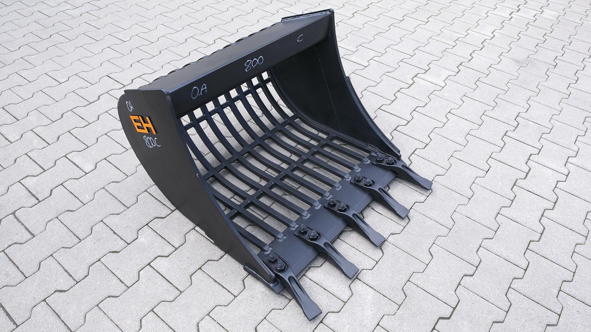 Skeleton bucket without adaptert / 800 mm / cat. 4K