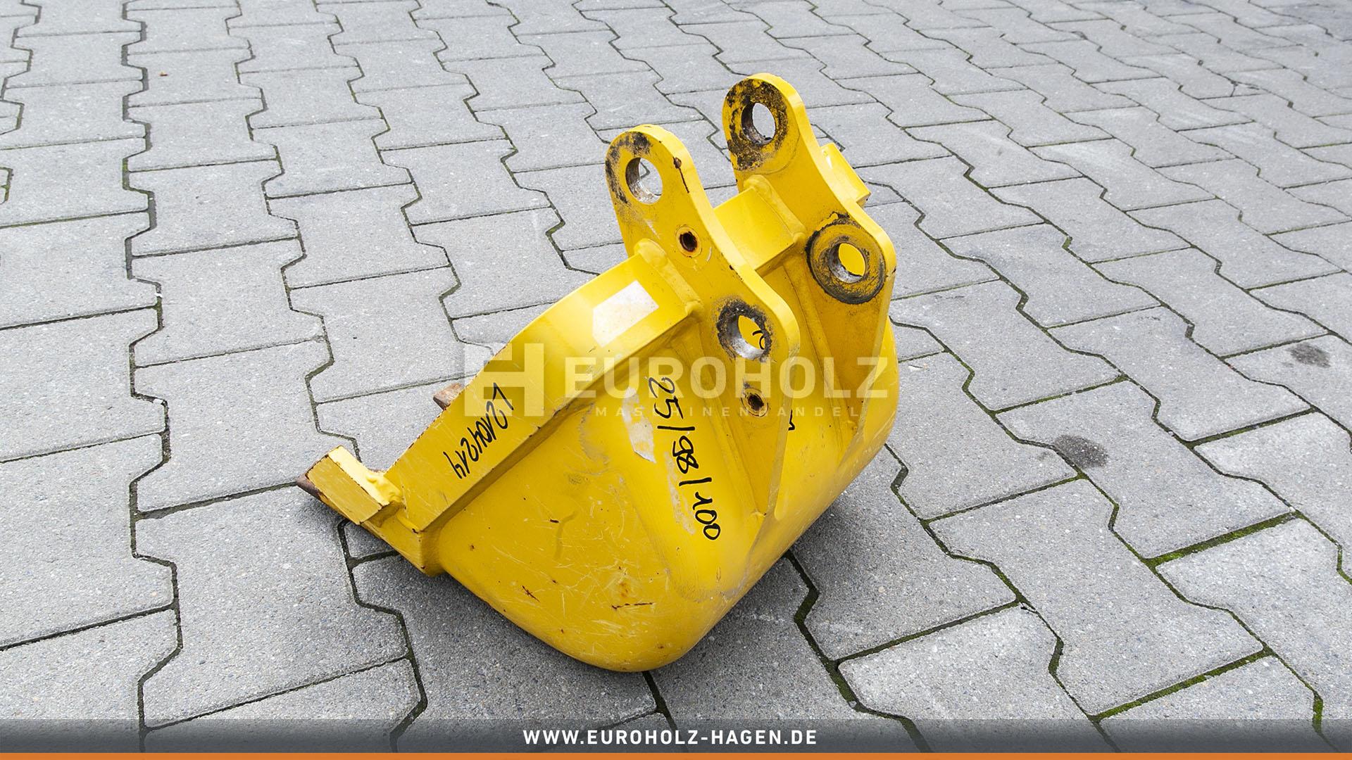 Tieflöffel mit Festanbau 25/98/100 300 mm (gebr.)