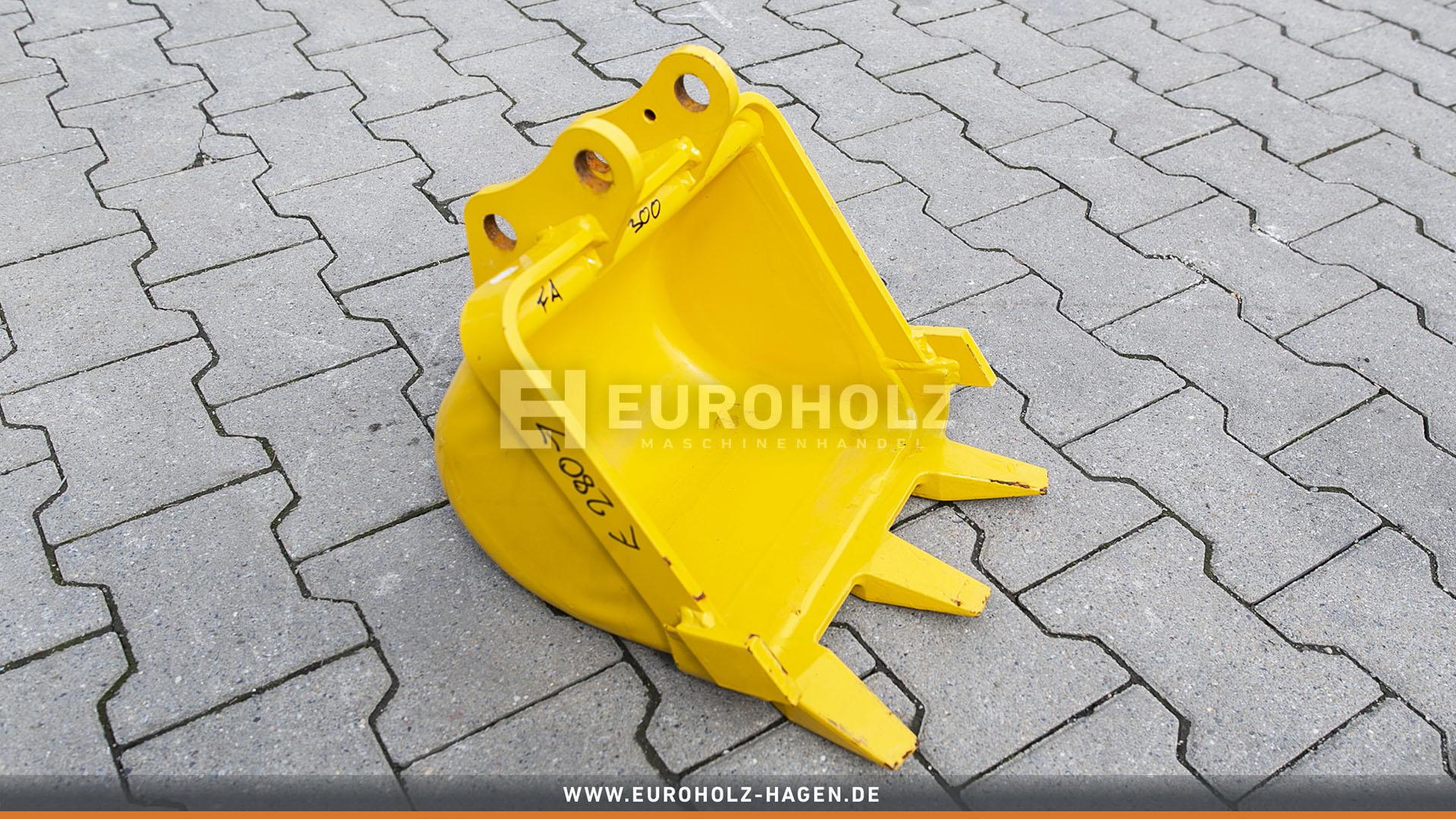 Tieflöffel mit Festanbau 2598100 300 mm (gebr.)