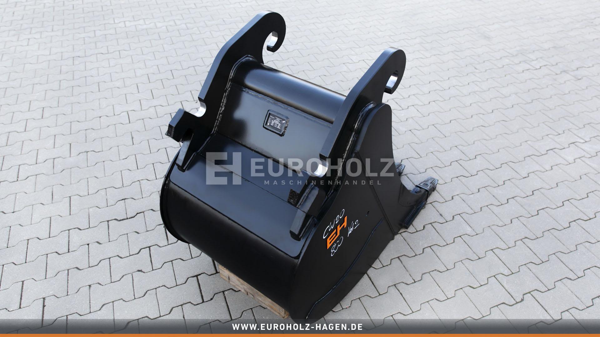 Tieflöffel passend für Verachtert CW20 / 800 mm / Kat. 2G
