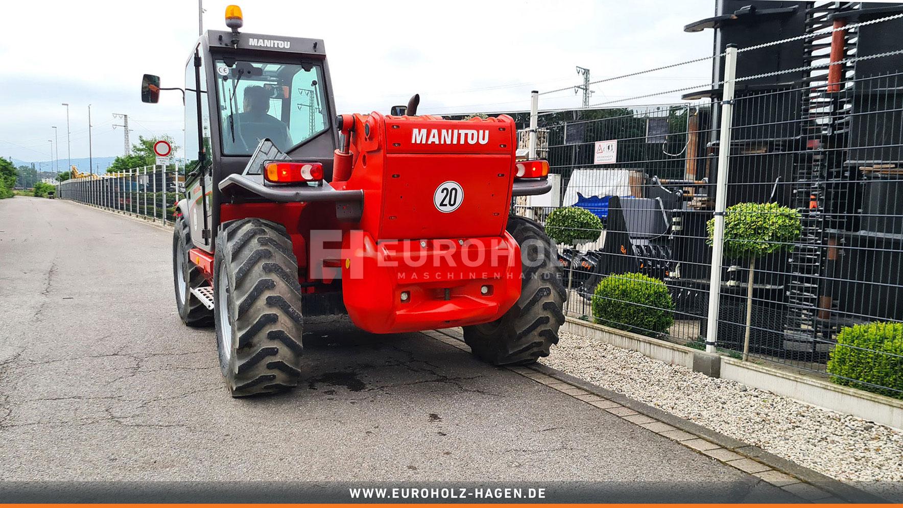 Radlader Manitou 1435 HSL 4x4x4 Allrad nur 1717 Bh