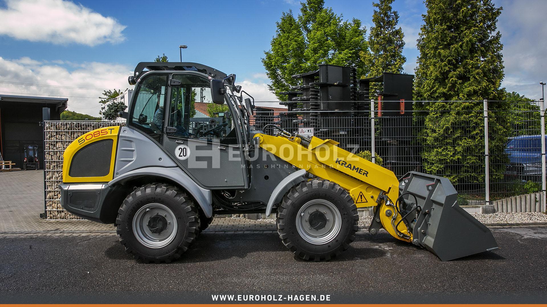 Radlader Kramer 5085 T nur 214 Bh mit SW Hydr 3 Steuerkreis