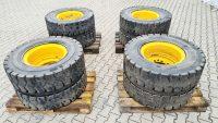 Reifen Reifensatz Felgen Mobilbagger Volvo EW 160 Original