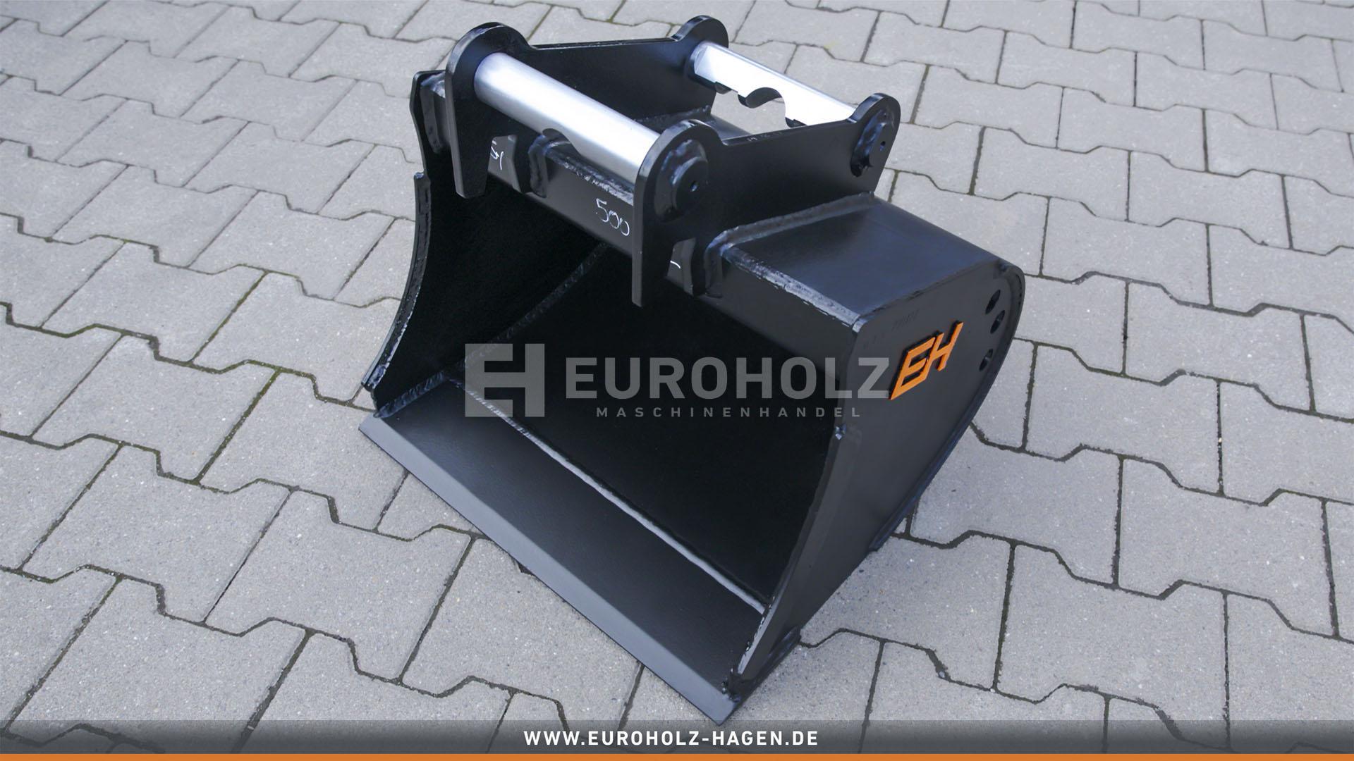 Tieflöffel passend für Lehnhoff MS01 SY / 500 mm / Kat. 1K / ohne Zähne