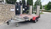 Anhänger Schmidt GTA 350 LK 3500 kg Rampen