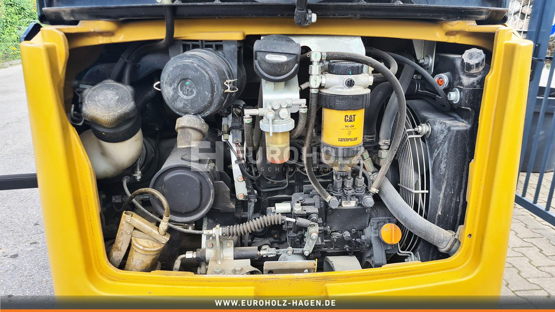 Minibagger CAT 301.7 D mit CW05