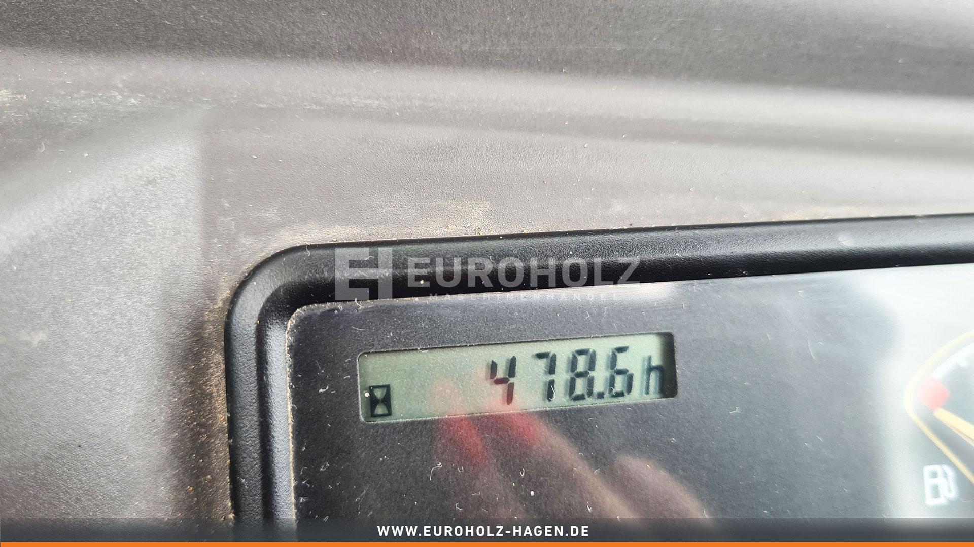 Minibagger EC 18 E mit MS 01 Top Zustand nur 478 Bh