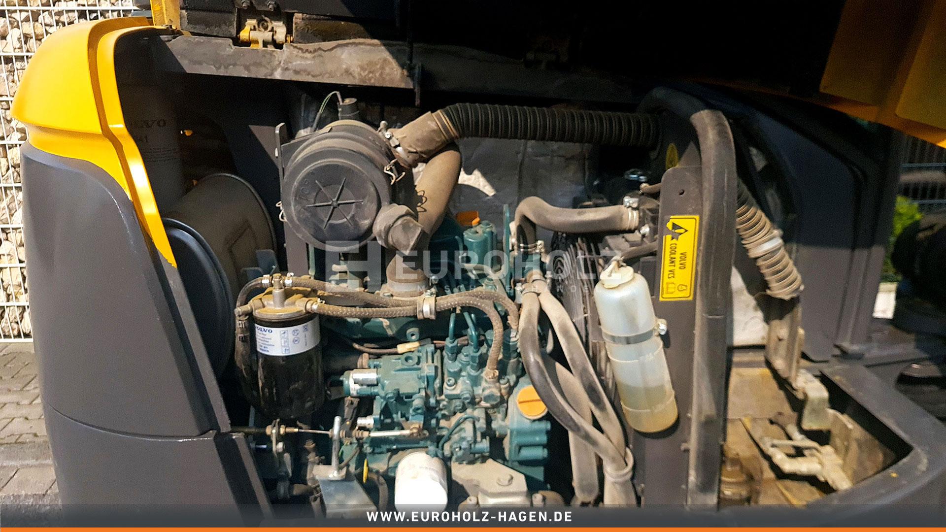 Minibagger Volvo EC 27 C mit MS 03