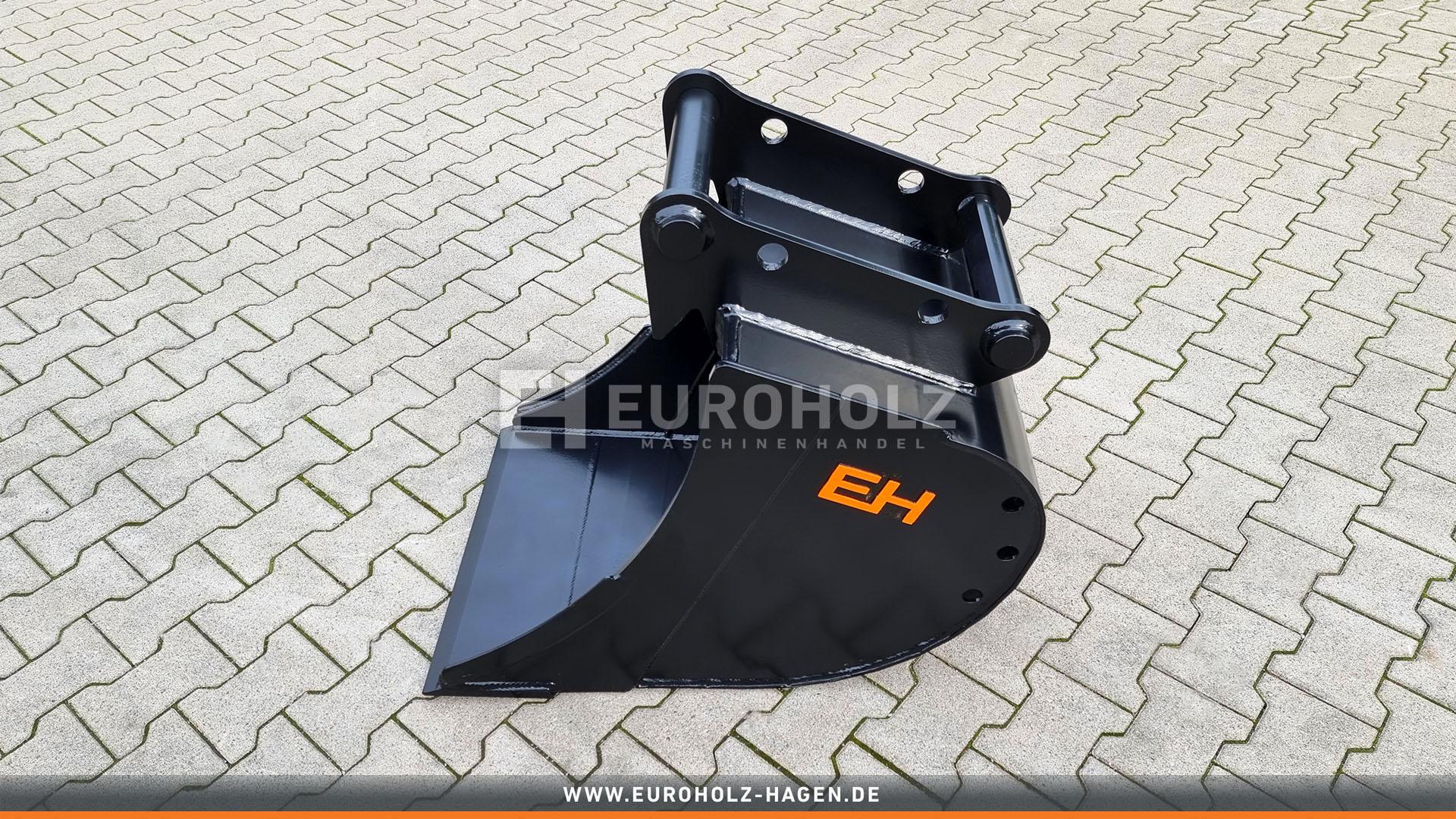 Tieflöffel passend für Lehnhoff MS08 SY / 600 mm / Kat. 5K / ohne Zähne