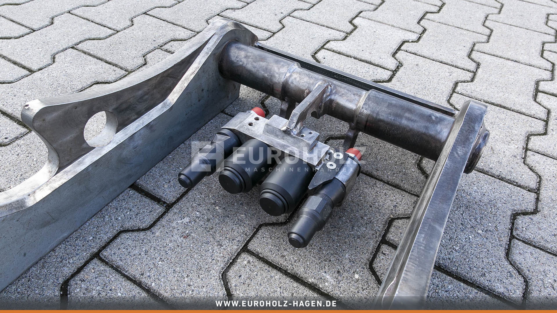 Hydraulic adapter OilQuick OQ60-4 / with couplings