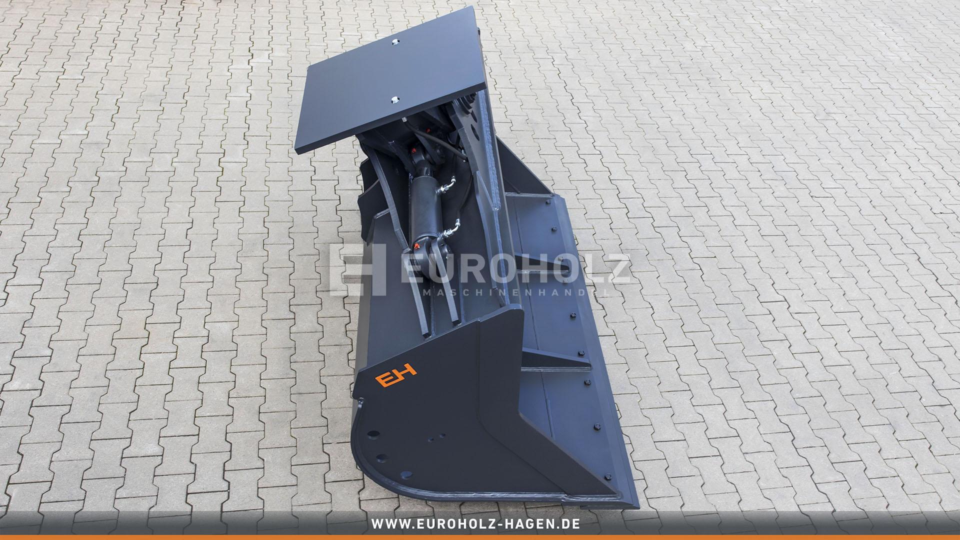 Hydraulischer Grabenräumlöffel ohne Aufnahme / 2200 mm / Kat. 7G / mit wendbarem Unterschraubmesser