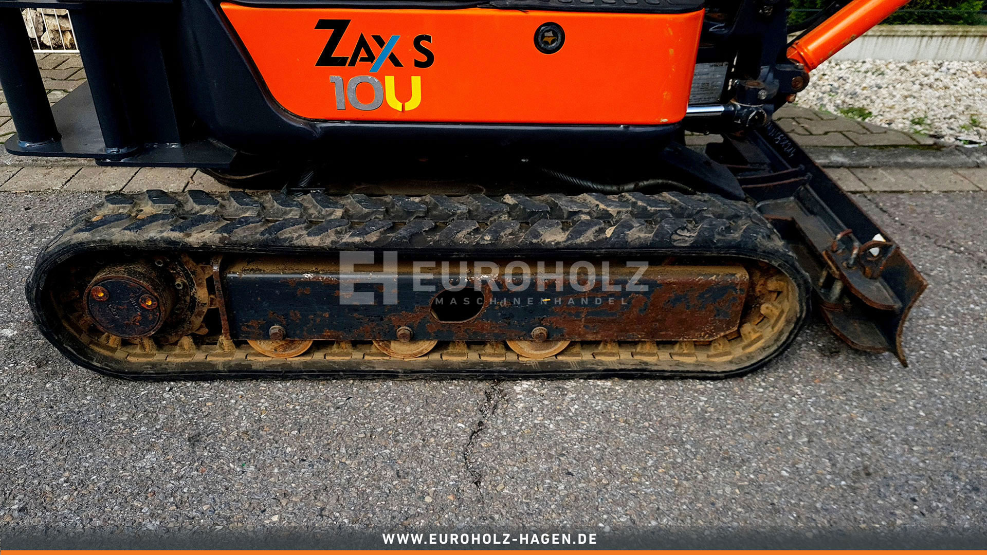 Minibagger Hitachi ZX 10U - 2 YSR MS01 nur 466 Bh 1110 Kg