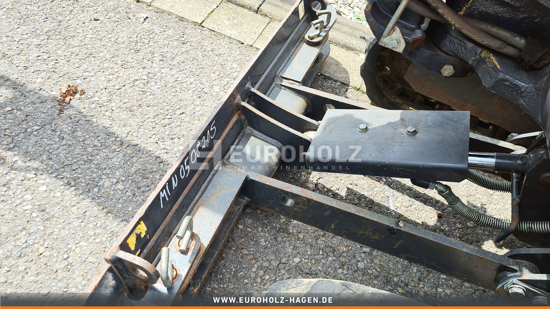 Minibagger Hitachi ZX 10U - 2 YSR MS01 nur 522 Bh 1110 Kg